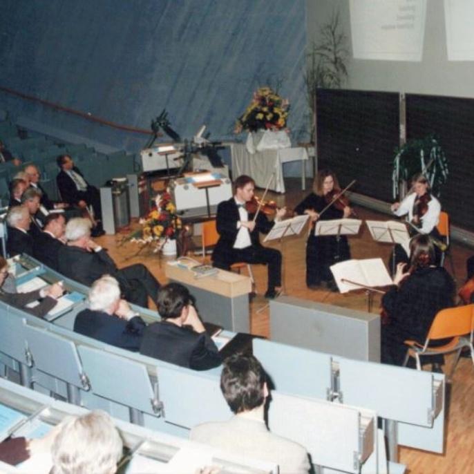 Musikalische Eröffnung durch das Kammermusikensemble der Uni Stuttgart
