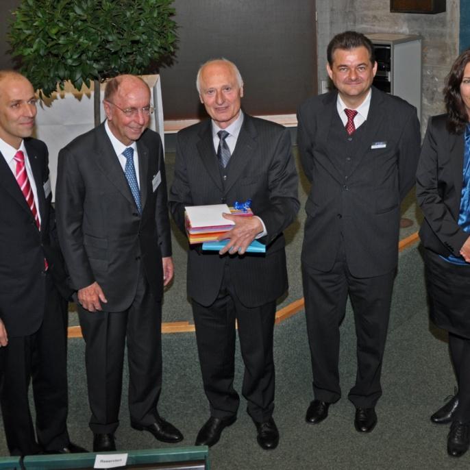 Gratulation zu 25 Jahren IFSW und 75. Geburtstag von Prof. Hügel