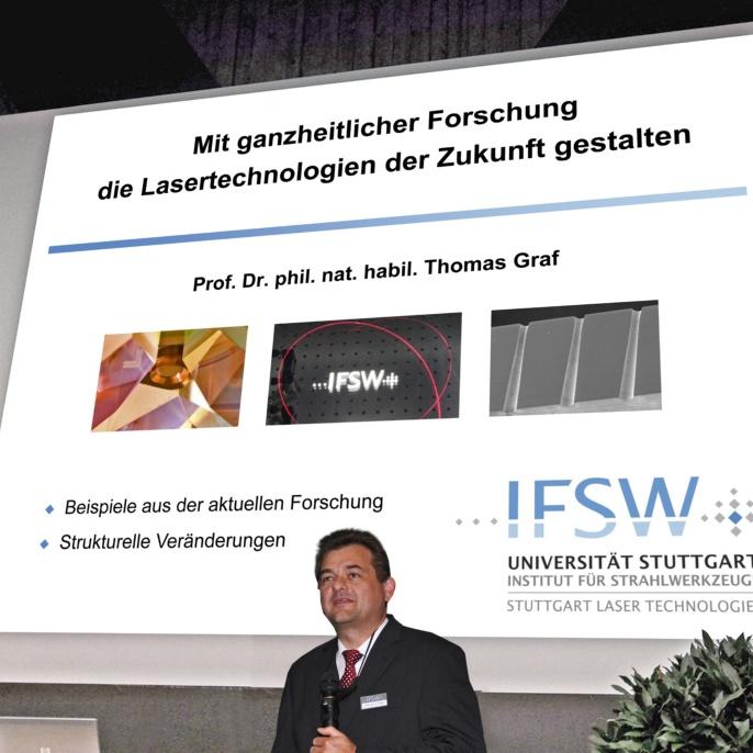 Vortrag von Prof. Graf anlässlich des 25-jährigen Jubliäums