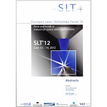 Abbildung des Tagungsbands SLT 2012.