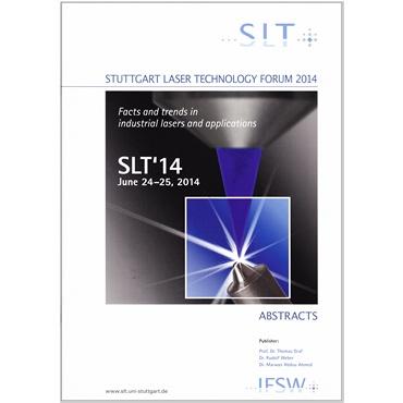 Abbildung des Tagungsbands SLT 2014.